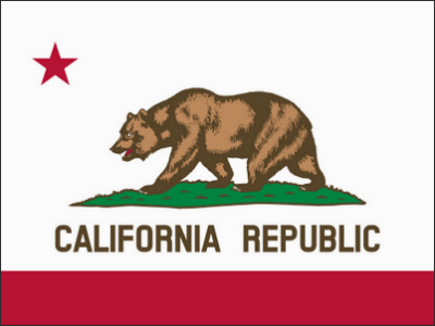 California flag